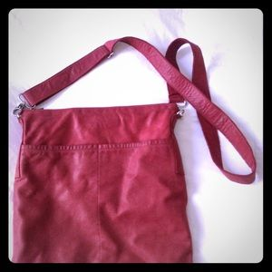 Leather Swede Bag